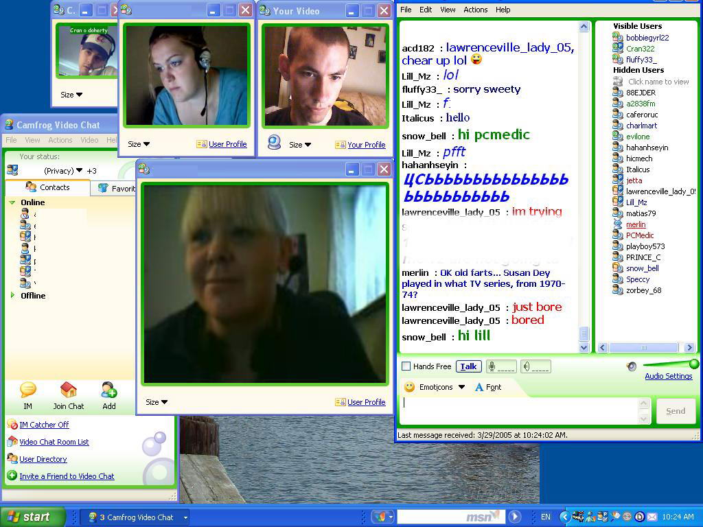 webcams live chat